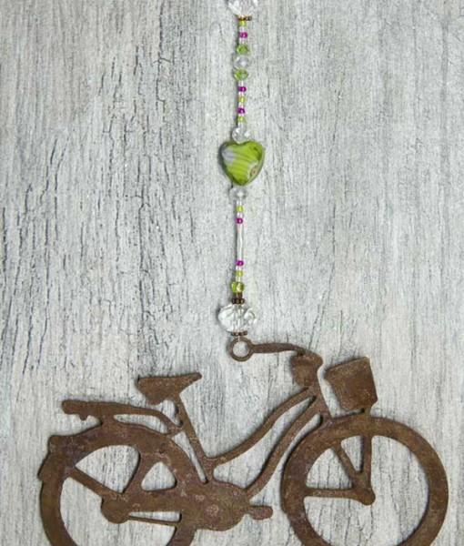 Green Marbled Sun Catcher Cruiser Bike