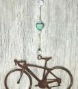 Road Bike Sun Catcher Aqua Heart