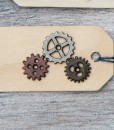 gears gift tag