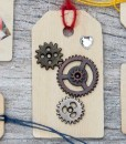 gears with gem heart