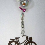 large-rustic-metal-cruiser-with-black-accents-and-snowman-ornament