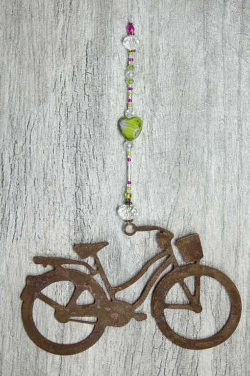 Green Marbled Sun Catcher Cruiser Bike