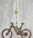 green marbled mountain bike sun catcher