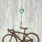 Lg-Road-Bike-Aqua-Marbled-Glass-Heart
