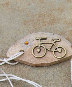 heart cog bike with gem daisy