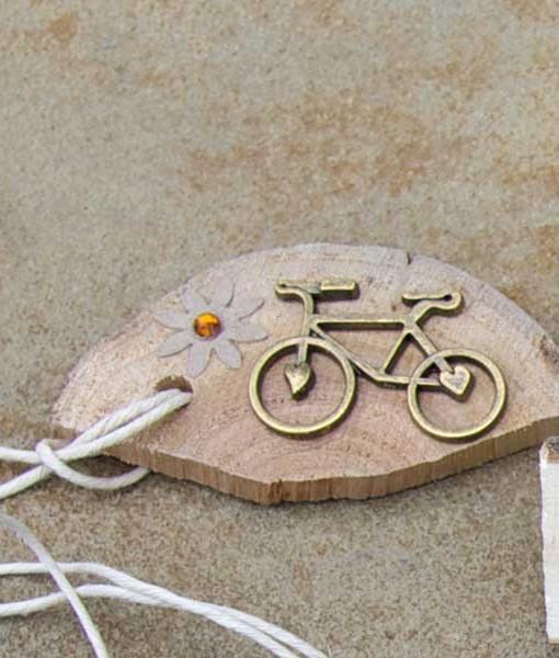 heart cog bike with gem daisy