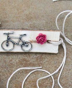 heart cog bike with rose
