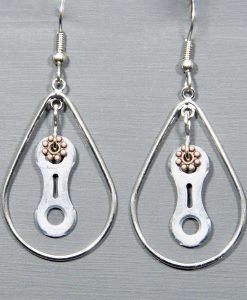 Bike Chain-Jewelry-Earrings