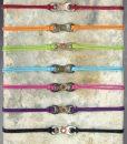 Bracelets BCG 01 02 03 04 05 06 07 grey bubbles backgrnd on stone