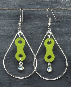 BikeChain-Earrings-Upcycled-Crystals