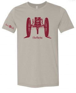 bicibits Recumbent Bike Tee Men's