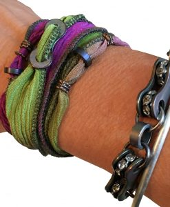 Bike Bling-BOHO-Silk Wrap-Bracelets