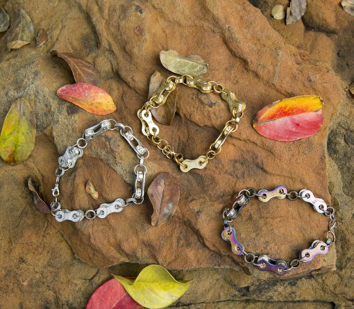 Bike Chain Bracelets