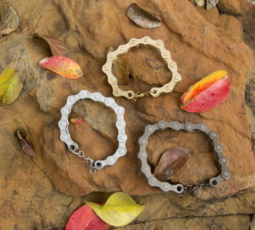 Bike Chain Bracelet