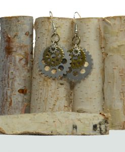 Bike Gears Jewelry earrings