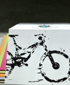 Bike Art, MTB, Cycling Gifts, Greeting Cards