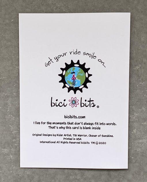 Bike Art, Greeting Card