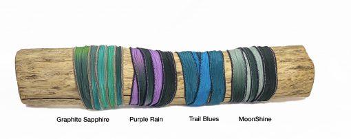 Bike Jewelry Silk Wrap Bracelets